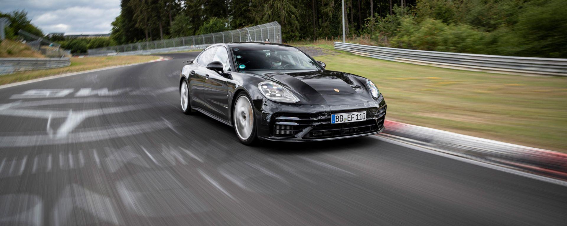 Nuova Porsche Panamera: è record al Nurburgring