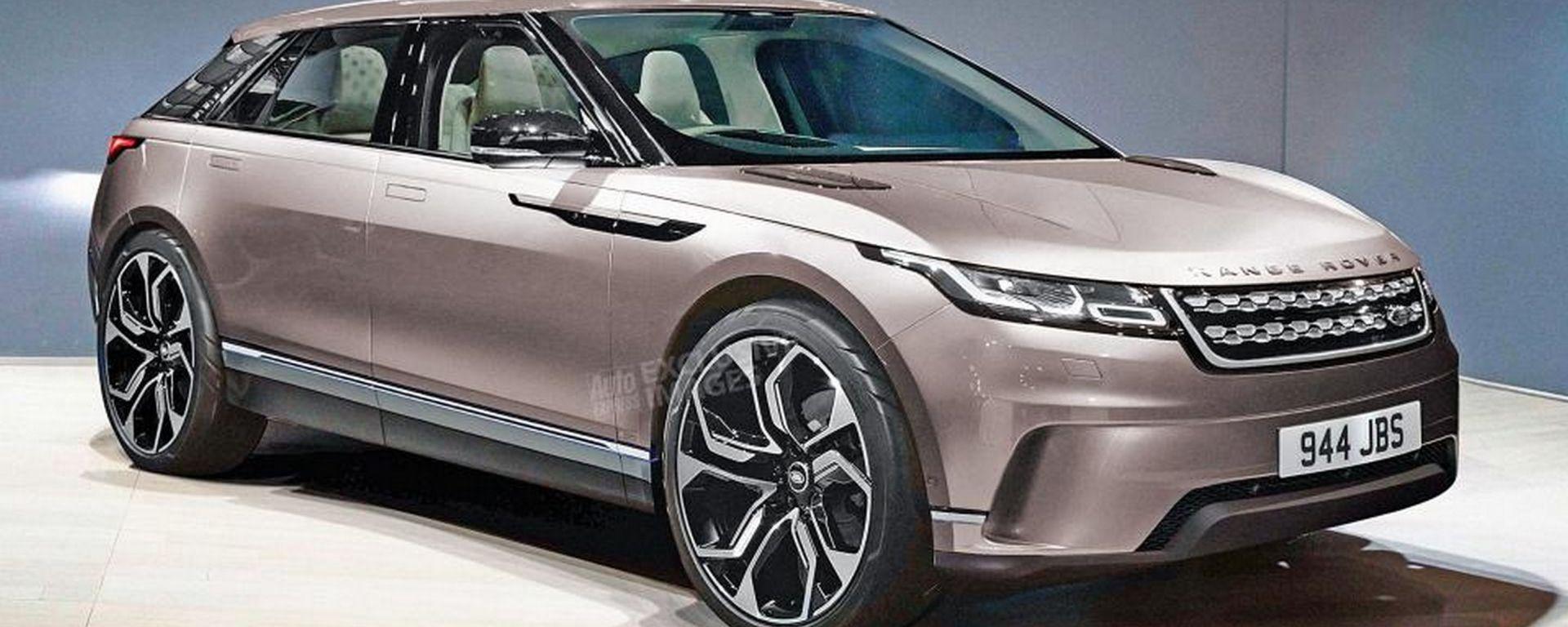 Nuova Range Rover Crossover 2021, il render di Auto Express