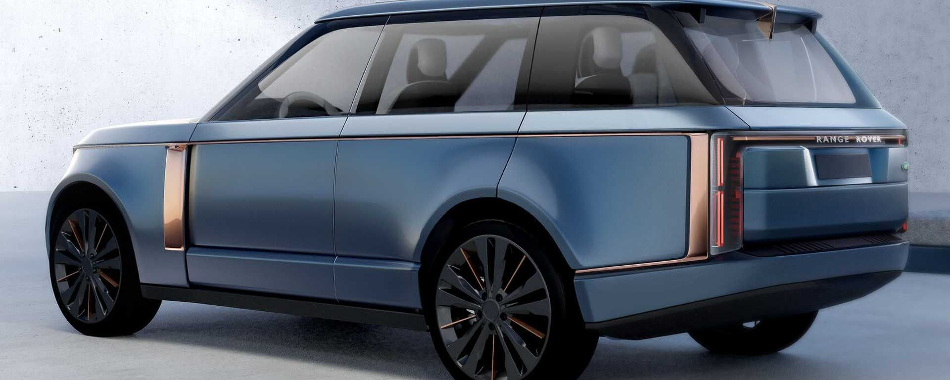 Nuova Range Rover, dal 2024 anche full electric