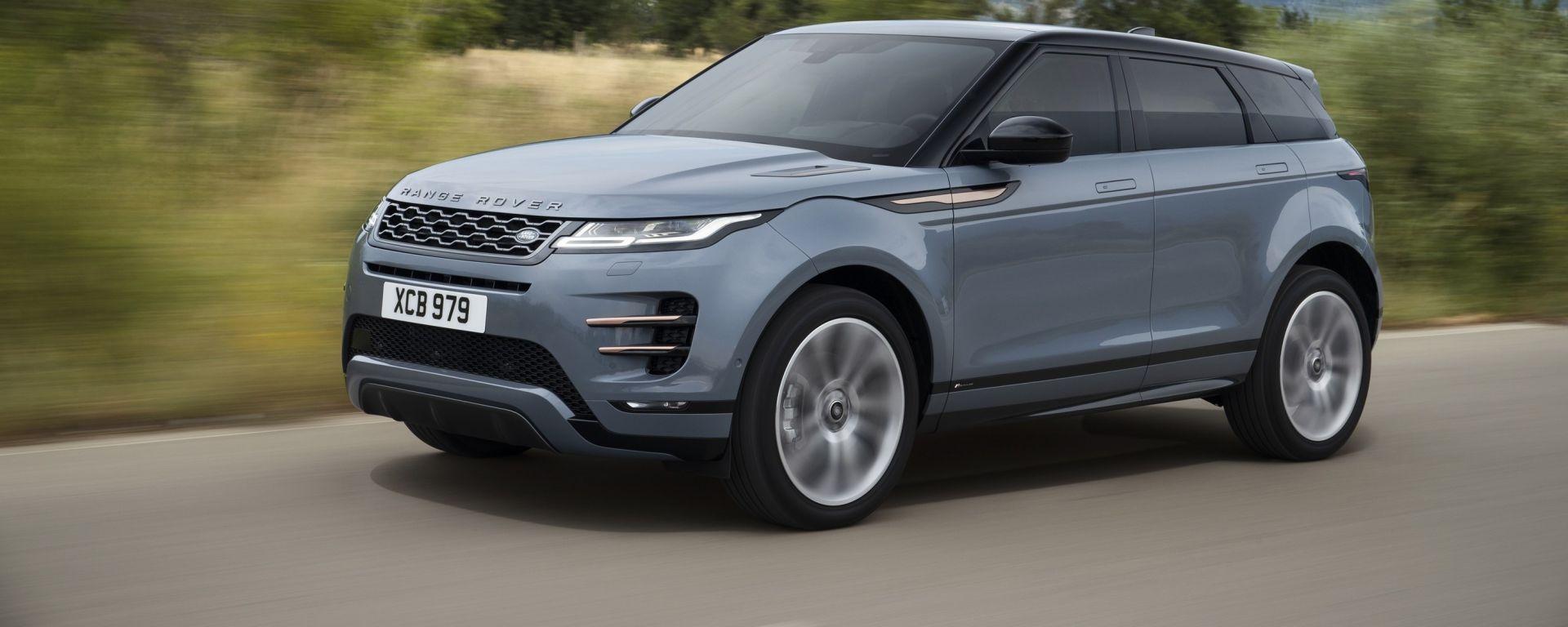 Range Rover Evoque 2019: tutto sulla nuova generazione