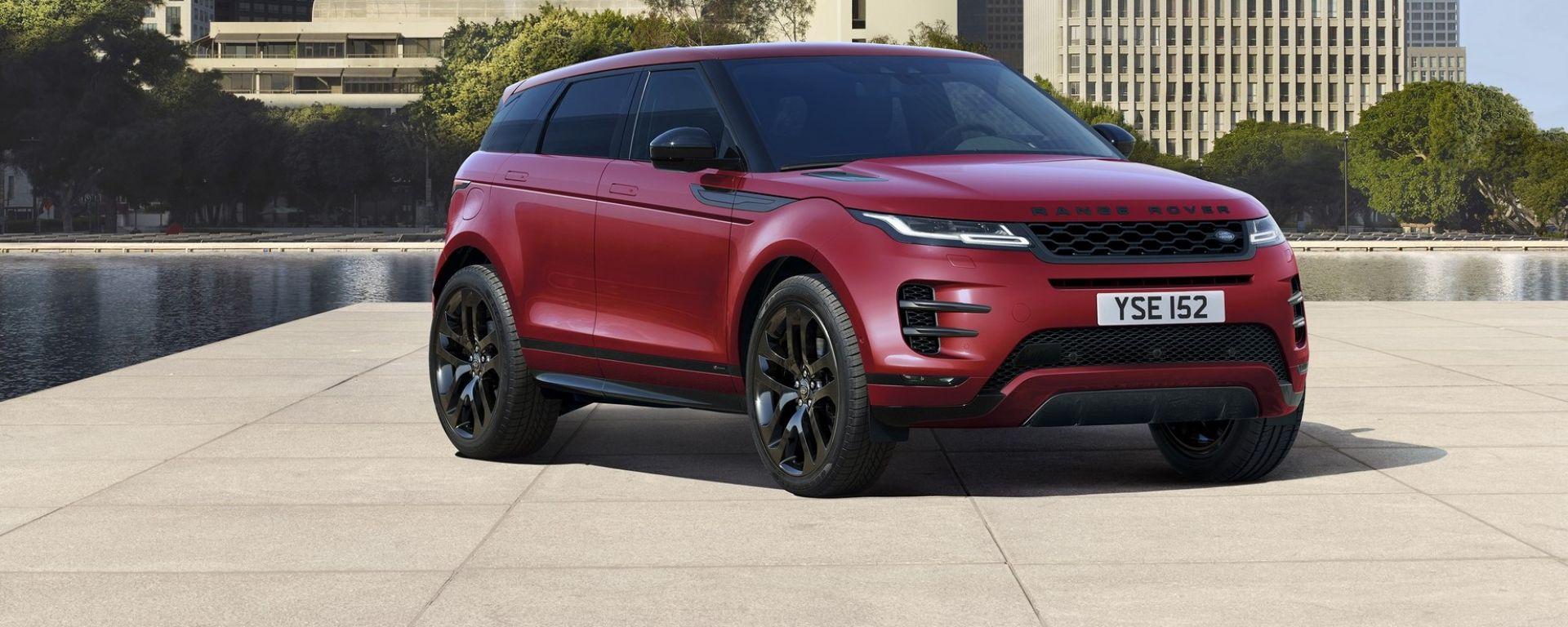 Nuova Range Rover Evoque 2019: primo contatto in video