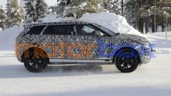 Nuova Range Rover Evoque 7 posti: i collaudi sulla neve scandinava