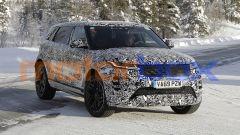 Nuova Range Rover Evoque 7 posti: i look resta uguale alla versione a passo corto