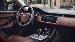 Nuova Range Rover Evoque, gli interni