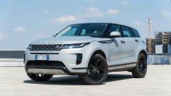 Nuova Range Rover Evoque: vista 3/4 anteriore