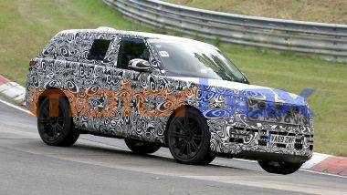 NUova Range Rover: in agenda anche una versione 100% elettrica