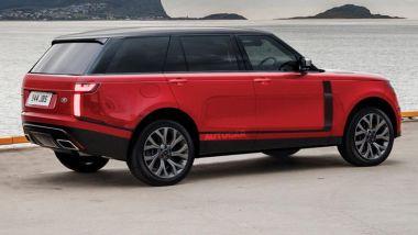 Nuova Range Rover: sarà così lo stile del posteriore?