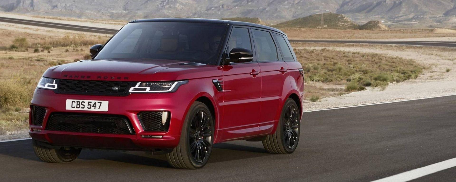 Range Rover Sport MY2018: con il restyling debutta l'ibrida