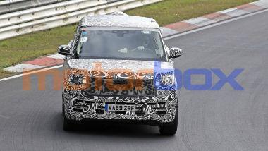 Nuova Range Rover: SUV costruito su una piattaforma modulabile