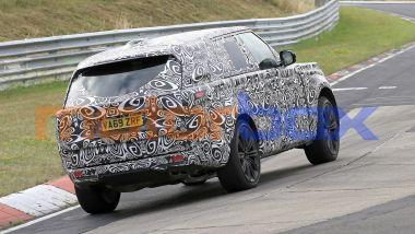 Nuova Range Rover: tutti i motori saranno elettrificati