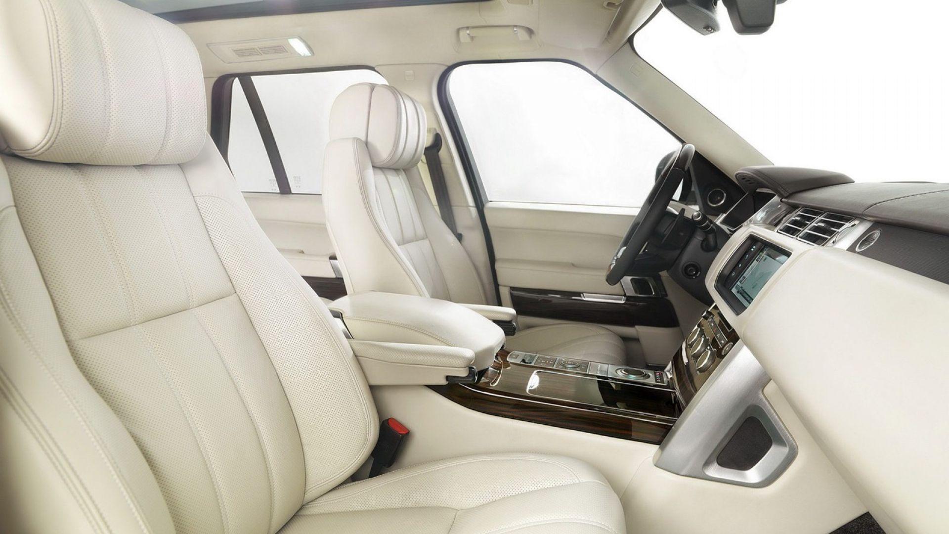 Immagine 14: Range Rover 2013, nuove foto e dati