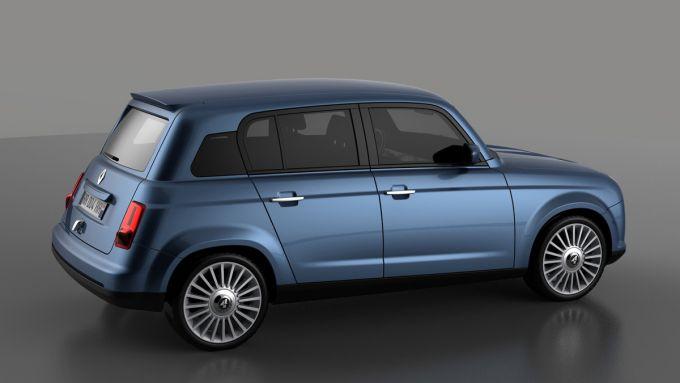 Nuova Renault 4, il render di David Obendorfer