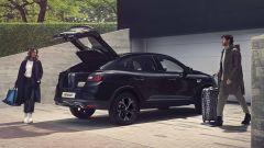 Nuova Renault Arkana E-Tech Hybrid: capacità di carico buona ma soglia di accesso alta