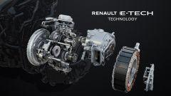 Nuova Renault Arkana E-Tech Hybrid: lo schema del cambio automatico brevettato