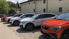 Nuova Renault Arkana E-Tech Hybrid: un momento della presentazione