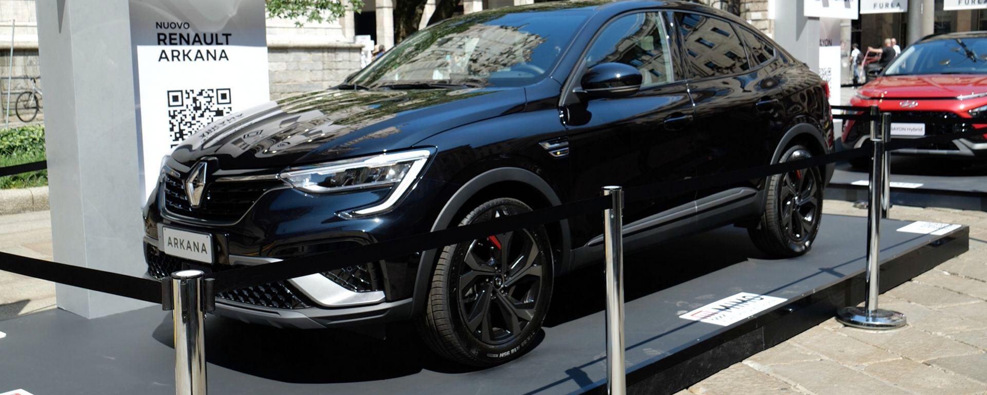 Nuova Renault Arkana, MIMO 2021