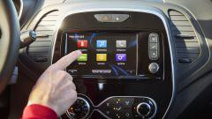 Nuova Renault Captur 2017: lo schermo da 7 pollici del sistema R-Link2