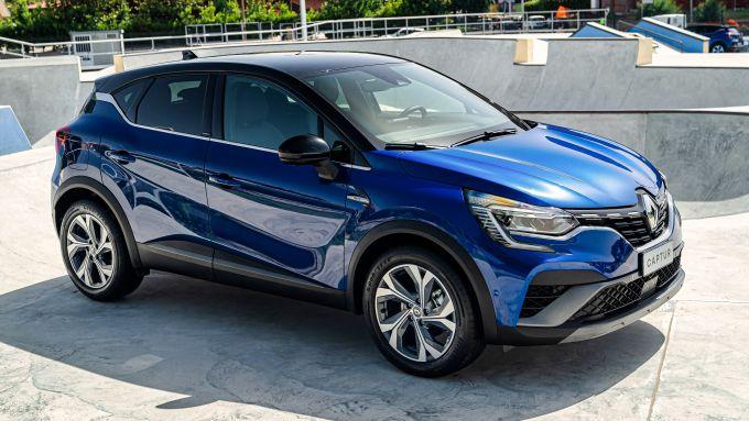 Nuova Renault Captur E-Tech Hybrid: oltre 1,5 milioni di esemplari venduti in Europa dal 2013