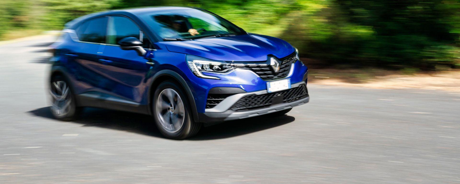 Nuova Renault Captur E-Tech Hybrid: primo contatto con la versione 100% ibrida