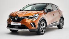 Nuova Renault Captur vista 3/4 anteriore