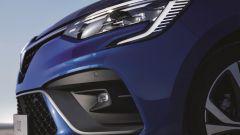 Nuova Renault Clio 2019: dettaglio del frontale