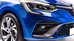 Nuova Renault Clio 2019: dettaglio della presa d'aria