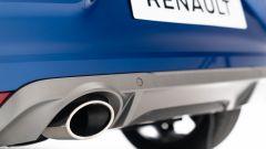 Nuova Renault Clio 2019: dettaglio dello scarico