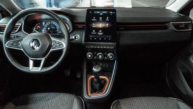 Nuova Renault Clio: gli interni