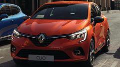 Nuova Renault Clio: il frontale