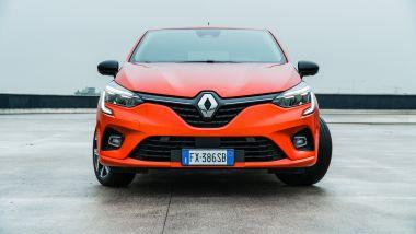 Nuova Renault Clio, il frontale