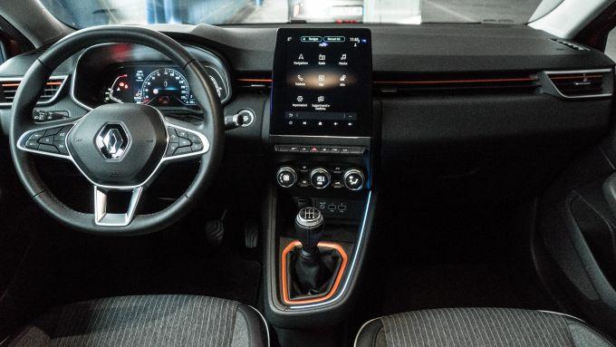 Nuova Renault Clio, l'abitacolo