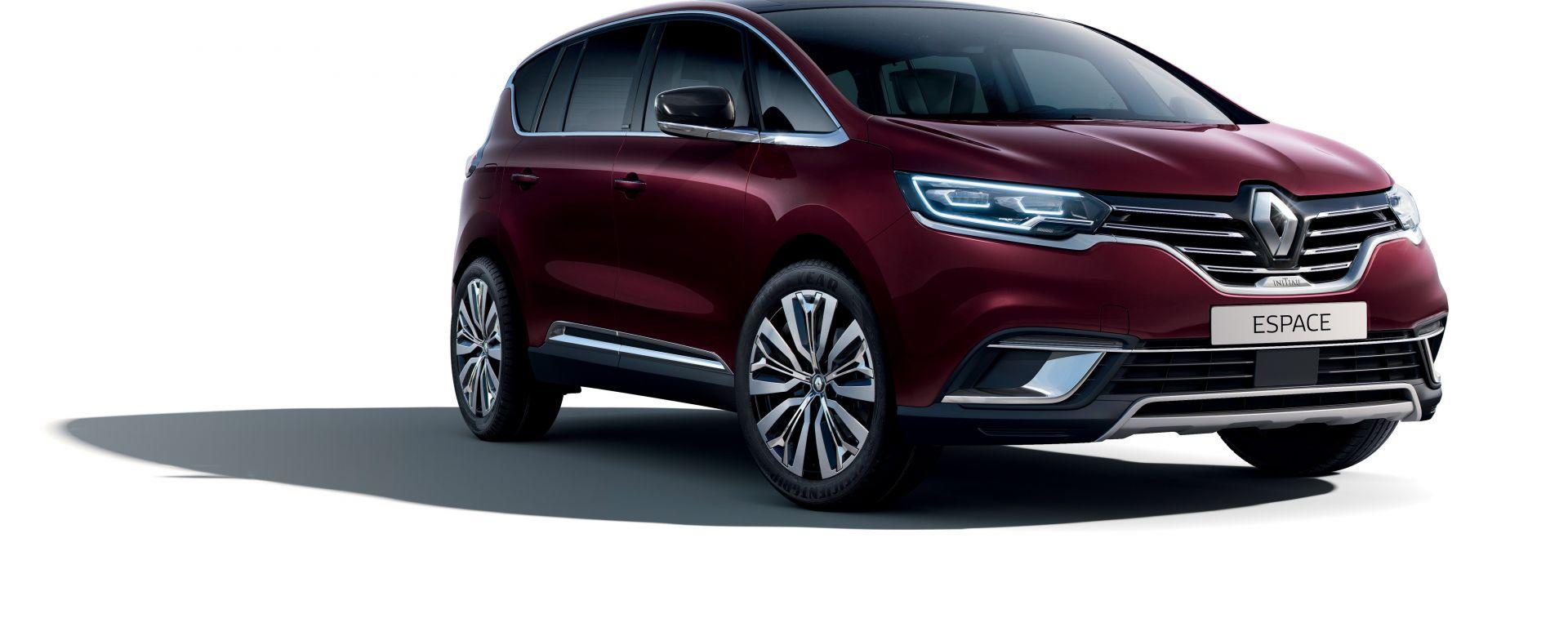 Nuova Renault Espace Initiale Paris: il crossover 7 posti si rifà il look