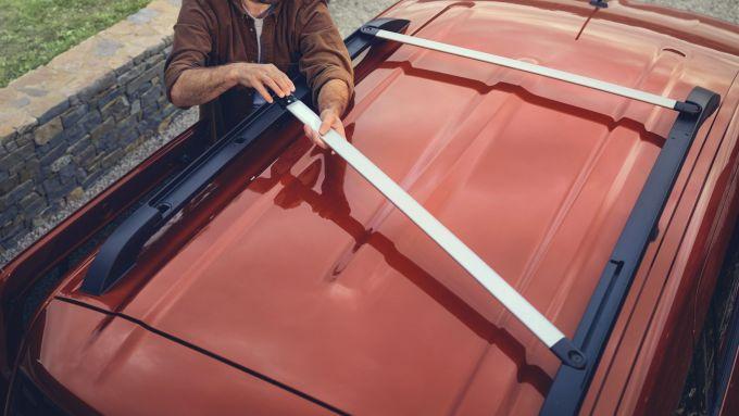 Nuova Renault Kangoo 2021: le nuove barre sul tetto