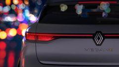Nuova Renault Mégane (2022), il teaser del posteriore