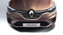 Nuova Renault Megane E-Tech: dettaglio anteriore