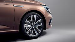 Nuova Renault Megane E-Tech: dettaglio nuovi cerchi in lega