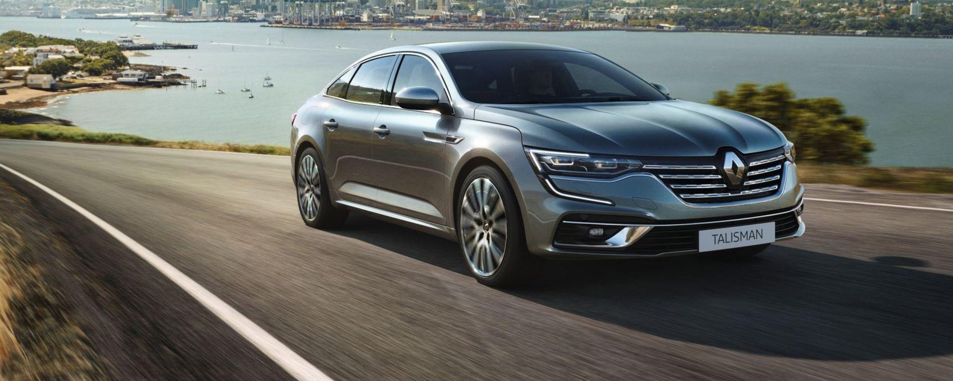 Nuova Renault Talisman 2020: il restyling
