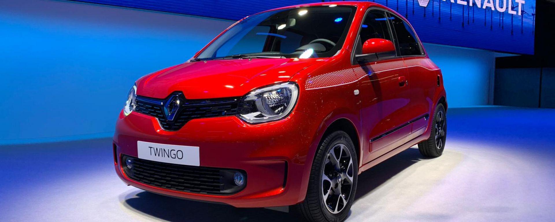 Nuova Renault Twingo 2019: praticità all'ennesima potenza