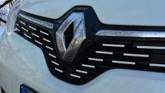 Nuova Renault Twingo Z.E: il logo anteriore