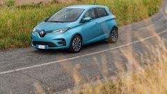Nuova Renault ZOE: il frontale