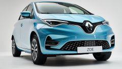 Nuova Renault ZOE: l'anteriore