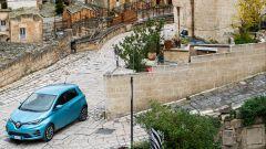 Nuova Renault ZOE per le strade di Castelmezzano