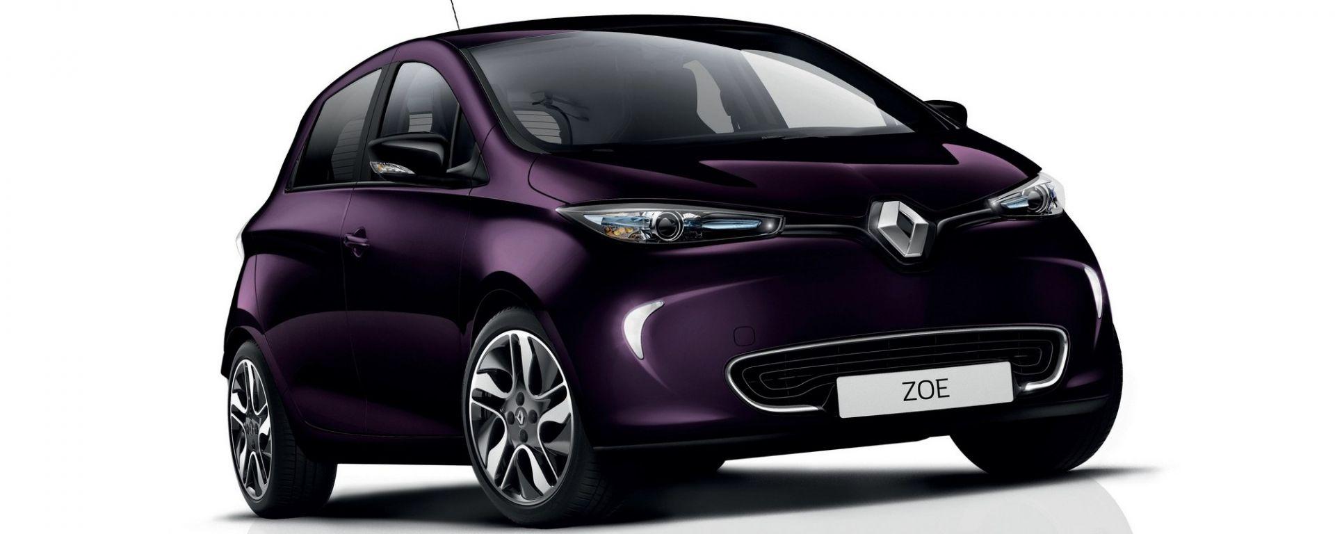 Renault Zoe R110: a Ginevra la citycar elettrica con 110 CV