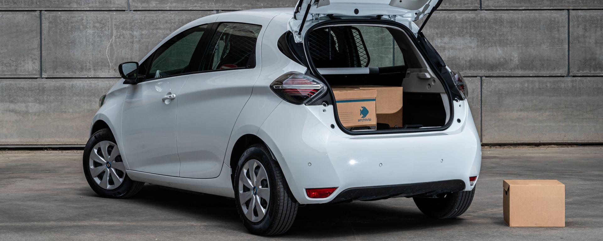 Renault Zoe Van, l'elettrica dei professionisti. Come cambia