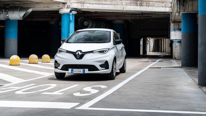 Nuova Renault Zoe Van: il 3/4 anteriore