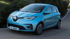 Nuova Renault ZOE: vista 3/4 anteriore