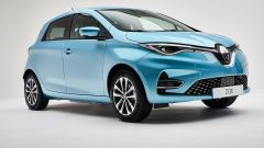 Nuova Renault ZOE: vista laterale