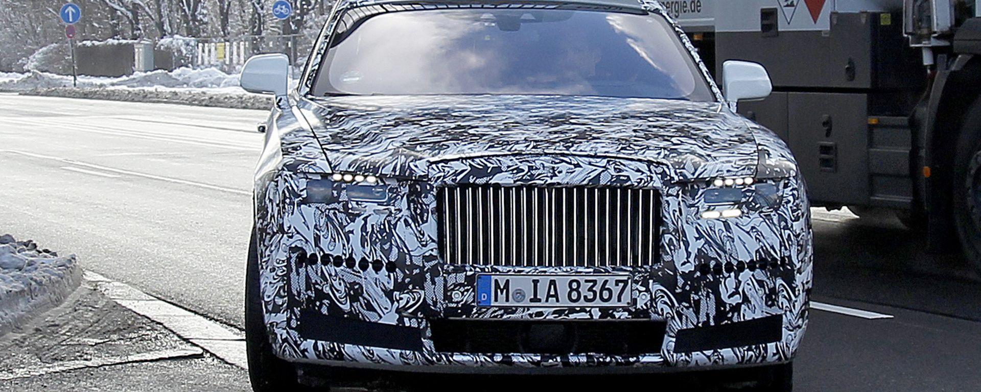Nuova Rolls-Royce Ghost: ecco come cambia
