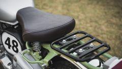 Nuova Royal Enfield Bullet Trials 500: la sella monoposto e il portapacchi