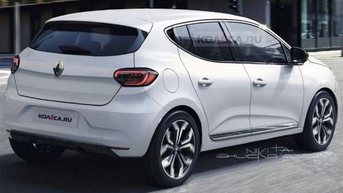 Nuova Sandero: posteriore di ispirazione Renault Zoe?
